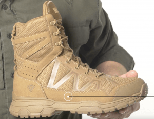 """First Tactical 7"""" Operator Boots breathability"""